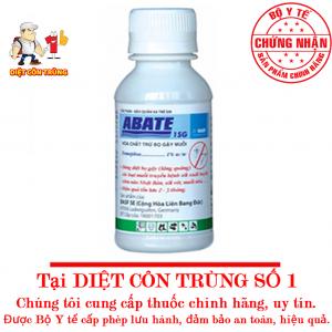 Thuốc Diệt Bọ Gậy Muỗi Abate 1SG 100g