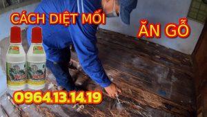 cách diệt mối sàn gỗ
